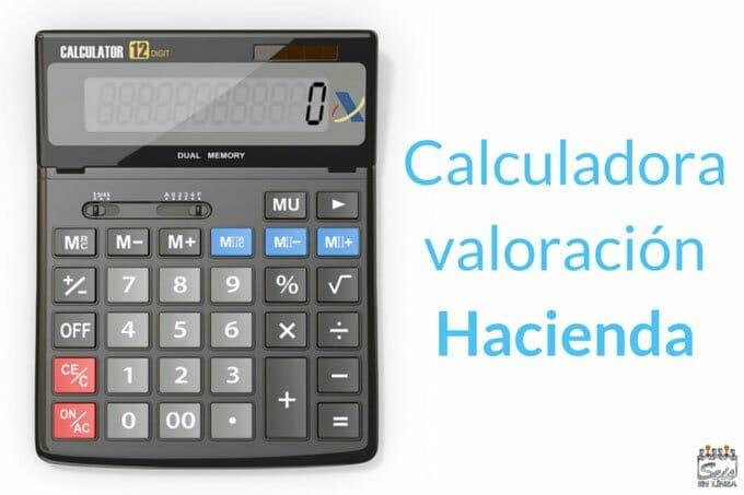 Cabecera Calculadora valor coche Hacienda