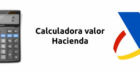 banner calcular valor coche hacienda
