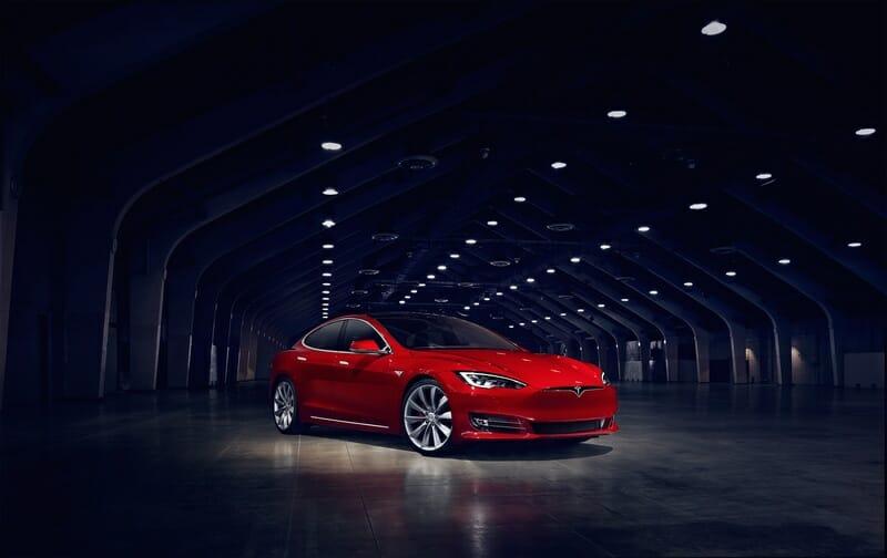 consumo coches electricos tesla model s p90d
