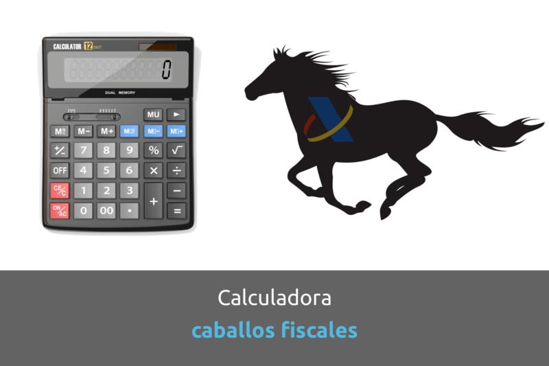 Cabecera calculadora caballos fiscales