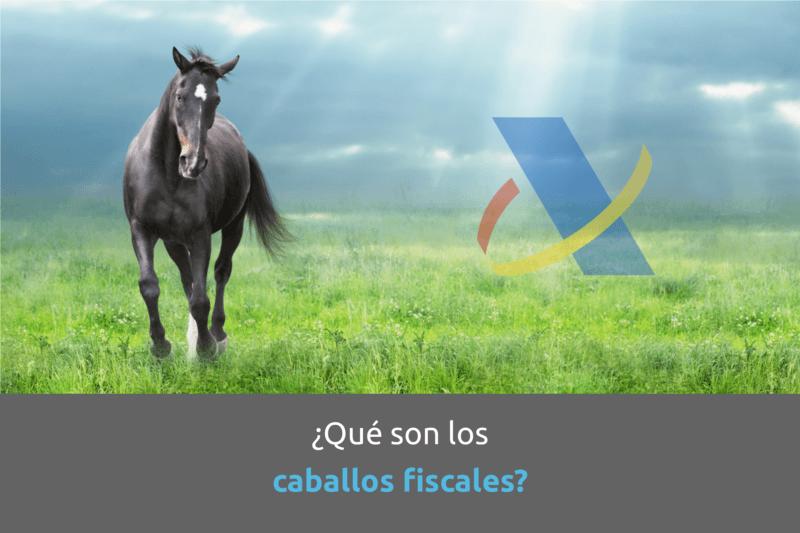 Cabecera que son los caballos fiscales