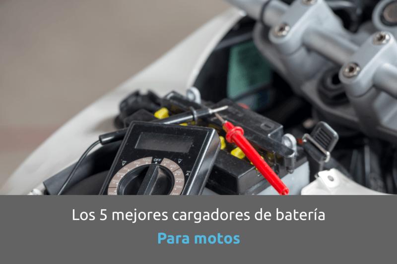 Cabecera cargador batería para moto