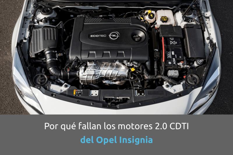 Cabecera problemas motores opel insignia