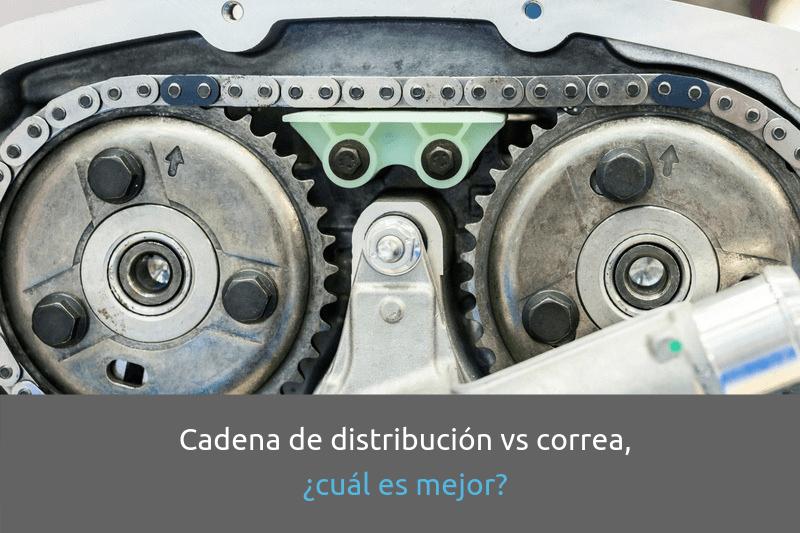 Cabecera Introducción a la distribución cadenas vs correas