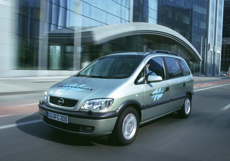 Opel Zafira Hydrogen Concept